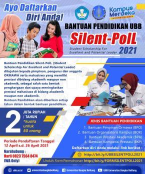 Bantuan Pendidikan UBB Silent PolL